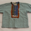 Fiú ing, Ruha, divat, cipő, Gyerekruha, Gyerek (4-10 év), Varrás, Kizárólag természetes anyagból készült alternatív-népi stílusú színes fiú ing. Mindegyik egyedi des..., Meska