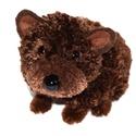 Barna maci, Dekoráció, Otthon, lakberendezés, Mindenmás, Saját tervezésű és készítésű barna macika.  Feje, teste, farka kétféle barna színű fonalból készült..., Meska