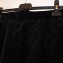Fekete bársony ceruzaszoknya, Ruha, divat, cipő, Női ruha, Szoknya, Varrás, Fekete bársony ceruzaszoknya,XS-es méret.Derék:64cm , Meska