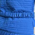 Királykék steppelt dzseki, Ruha, divat, cipő, Mindenmás, Női ruha, Kabát, Varrás, Impregnált anyagból készült dzseki, hátán és vállán steppelt mintával. Bélése világos lila selyem. ..., Meska