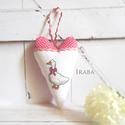 Tilda szív - Liba, Otthon, lakberendezés, Dekoráció, Konyhafelszerelés, Hímzés, Varrás, Vintage jegyében, keresztszemes mintával készült Tilda szív.   Kedves dekorációja lehet otthonodnak..., Meska