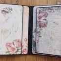 A mi történetünk.... - interaktív esküvői scrapbook fotóalbum, Esküvő, Naptár, képeslap, album, Fotóalbum, Nászajándék, Papírművészet, Az egyik kedves vásárlóm arra kért, hogy olyan esküvői interaktív scrapbook albumot készítsek neki,..., Meska