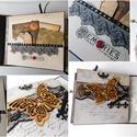 Egyedi, kézműves steampunk scrapbook album, Férfiaknak, Naptár, képeslap, album, Steampunk ajándékok, Fotóalbum, Papírművészet, Színes, különleges, nagyon egyedi, számos új elemmel készült interaktív steampunk scrapbook album a..., Meska