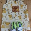 Kantáros rövidnadrág különleges zsebbel és cipővel kisfiúknak, Ruha, divat, cipő, Cipő, papucs, Gyerekruha, Kisgyerek (1-4 év), Varrás, Ez az aranyos kertésznadrág 2 év körüli kisfiúknak készült. Anyaga aranyos, első osztályú vászon an..., Meska