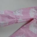 Rózsaszínű baglyos kislányruha különleges háttal, Ruha, divat, cipő, Gyerekruha, Kisgyerek (1-4 év), Varrás, Ez a ruha több szempontból is nagyon trendi. Egyrészt mindkét anyaga, a ruha- és bélésanyaga is nag..., Meska