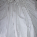 Alsószoknya, népviselet, néptáncos kellék, Ruha, divat, cipő, Esküvő, Gyerekruha, Női ruha, Varrás, Fehér pamut anyagból készült, alján csipkével. Megkötős, hossza bármekkorára kérhető!  Felső szoknyá..., Meska