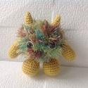 Mc Furby horgolt szőrmók szörny - amigurumi, Játék, Játékfigura, , Meska