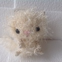 Miu szőrös horgolt cica - amigurumi, Játék, Játékfigura, , Meska