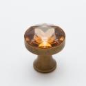 Swarovski kristályból készült fogantyú! - nagy kristály, Otthon, lakberendezés, Dekoráció, Bútor, Gyurma, Üvegművészet, Swarovski kristályból készült fogantyú!  Egyedi tervezésű swarovski design fogantyú! Szép csillogó,..., Meska