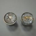 Macis bébi fogantyú! , Otthon, lakberendezés, Dekoráció, Bútor, Fogantyú, Gyurma, Üvegművészet, Egyedi tervezésű üveglencsés design fogantyú.  Alapja egyedi tervezésű alumínium, amire üveg lencsé..., Meska