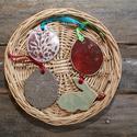 Kerámia húsvéti dísz (4 darab,4), Otthon, lakberendezés, Kerámia, Több színű agyagból készült, magastűzön (1200 fokon) tömörre égetett húsvéti díszek. A csomag a kép..., Meska
