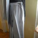 Világosszürke nadrágkosztüm, Ruha, divat, cipő, Női ruha, Kosztüm, Varrás, Világosszürke béleletlen nadrágkosztüm.Mérete kb.42-es.Kérésre megküldöm a pontos méreteket!Nadrág ..., Meska