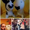 Fotó után készült kutya, Állatfelszerelések, Férfiaknak, Otthon, lakberendezés, Játék, Varrás, Baba-és bábkészítés, Plüss kutyát bárhol, bárki vehet, DE! a saját kutyádat is megveheted?  A elment a szeretett társ, é..., Meska