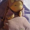 Waldorf manó (kisebb), Baba-mama-gyerek, Játék, Képzőművészet, Baba, babaház, Baba-és bábkészítés, Varrás, A baba, a waldorf babák mintájára készül természetes anyagokból. Töltete gyapjú, ruhája plüss. A ba..., Meska