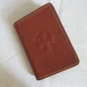Zsolozsmáskönyv- vagy bibliatok valódi bőrből, Mindenmás, Vallási tárgyak, Bőrművesség, A bibliatok a Jeromos társulat által kiadott kisméretű (11x17x4 cm) Bibliára vagy a papok, szerzete..., Meska