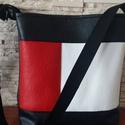 Textilbőr táska, Táska, Válltáska, oldaltáska, Varrás, Belga   textil bőrből készítettem ezt a táskát, ami vállon és   vállon átvetve hordható, Mérete : m..., Meska