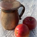 szűrősbögre, Konyhafelszerelés, Bögre, csésze, Kerámia, Szűrős bögre, melyben a szálas és gyümölcsteák bele forrázhatóak. 12 cm magas. 4dl fér bele. Mikróz..., Meska