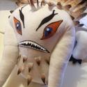 """Gnúvad plüss, Játék, Plüssállat, rongyjáték, Varrás, Az """"Így neveld a sárkányod"""" című animációs film egyik sárkánya Gnúvad, ölelgethetős formában.  Gnúv..., Meska"""