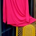 Ciklámen párban, Ruha, divat, cipő, Női ruha, Ruha, Kendő, sál, sapka, kesztyű, Festett tárgyak, Varrás, Egy kis bú felejtő: pink,amit lehet nagyon szeretni és kevésbé,de egy biztos,aki viseli,annak sokka..., Meska