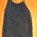 Aquarius, Ruha, divat, cipő, Női ruha, Blúz, Varrás, Festett tárgyak, A mélység szépséges színeivel: Lila textilfestékkel festett,hosszú kardigán,alatta  kékkel festett,..., Meska