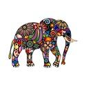Falmatrica - elefánt, Otthon, lakberendezés, Dekoráció, Falmatrica, Fotó, grafika, rajz, illusztráció, A falmatricának alapvetően három mérete van, de kívánságra egyedi méretben is elkészítem, egyezteté..., Meska