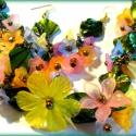 Tavaszi szél - szett AKCIÓ!, Ékszer, óra, Ékszerszett, Ékszerkészítés, Igazi tavaszváró szettet készítettem csodálatosan szép zöld trópusi kagyló gyöngyökből, és rengeteg..., Meska