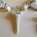 Cápafog amulett - szett AKCIÓ!, Ékszer, óra, Ékszerszett, Ékszerkészítés, Trópusi cápafog amulett nyakéken. Egészségvédő és erőt adó. Sok vallás szerint csodatévő erővel bír..., Meska
