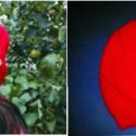 Piros kötött női sapka, Ruha, divat, cipő, Kendő, sál, sapka, kesztyű, Sapka, Horgolás, Piros fonalból egyszerű, laza női sapkát kötöttem. Hand made feliratú fagombbal díszítettem. Közepe..., Meska
