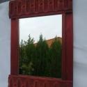 tükör, Dekoráció, Otthon, lakberendezés, Magyar motívumokkal, Képkeret, tükör, , Meska