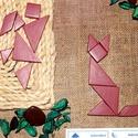 Mimikri játék (tangram), Játék, Készségfejlesztő játék, Logikai játék, Kerámia, Kriszto 93 részére lefoglalva, Meska