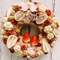 Édes Otthon kopogtató-Őszi ajtódísz gombákkal, Dekoráció, Otthon, lakberendezés, Dísz, Virágkötés, Ajándékot keresel házavatóra, szülinapra, névnapra melynek időpontja őszre esik? Ez a kedves, letis..., Meska