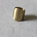 Bamburi - gyűrű, Ékszer, óra, Gyűrű, Ékszerkészítés, A gyűrű egyedi, kézzel készült termék. A gyűrű anyaga: sárgaréz Lakkozott (nem oxidálódik, védi a b..., Meska