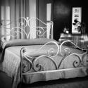 1. kovácsoltvas ágy keret , Bútor, Fémmegmunkálás, Kovácsoltvas, kovácsoltvas ágykeret (ágyrács és matrac nélkül). masszív, kovácsolt, örök darab. 160x200-as matrac..., Meska