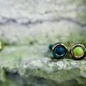 Gyűrű, Ékszer, óra, Ékszerszett, Gyűrű, Nemezelés, Izgalmas gyűrű izgalmas nőknek! Kerámia - nemez - gyűrű - a fémérzékeny nőkre gondoltam, amikor öss..., Meska
