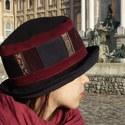 Téli kalap Klasszikus Szépségeknek, Baba-mama-gyerek, Ruha, divat, cipő, Kendő, sál, sapka, kesztyű, Sapka, , Meska