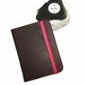 Color Up! - Barna Kindle Tok, Táska, Bőrművesség, Mindenmás, -----Megérkezett az új Kindle tok kollekcióm!-----  Valódi barna bőrből, pink színű textil béléssel!..., Meska