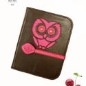 ' Cseresznye ' Kindle Tok, Táska, Pénztárca, tok, tárca, Mindenmás, Bőrművesség, *** Utolsó AKCIÓS Darab! ***  Hmmm, igazán ennivaló! Csokoládé-cseresznye! :)  Bagoly motívummal dí..., Meska