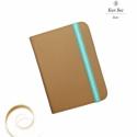 Color Up! - Mokka Kindle Tok, Táska, Pénztárca, tok, tárca, Bőrművesség, Mindenmás, -----Megérkezett az új Kindle tok kollekcióm!-----  - Valódi világosbarna bőrből, kék színű textil ..., Meska
