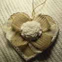 Vintage Heart 2 - szerelmes szív, Dekoráció, Otthon, lakberendezés, Ünnepi dekoráció, Falikép, Pezsgő, gyümölcs, rózsa, romantikus vacsora közös tányérról... ez mind nem elég? Ha szeretnél egy ma..., Meska