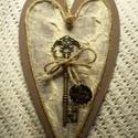 Key to my Heart 2 - szerelmi vallomás, Dekoráció, Otthon, lakberendezés, Dísz, Falikép, Pezsgő, gyümölcs, rózsa, romantikus vacsora közös tányérról... ez mind nem elég? Ha szeretnél egy ma..., Meska