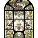 Díszüveg IV, Otthon, lakberendezés, Üvegművészet, Antik stílusú üvegkép. A festékréteget beleégetem az üvegbe, ez tartós, időtálló nyomatot eredményez..., Meska