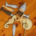 Horgász játék textilből, Baba-mama-gyerek, Játék, Társasjáték, Kerti játék, Varrás, A képen látható textiljáték remek szórakozást nyújt kisebb és nagyobb gyerekek számára, kint és ben..., Meska