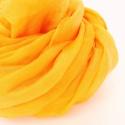 napsárga  selyemsál , Ruha, divat, cipő, Női ruha, Selyemfestés, Igazi szívderítő, picit narancs felé hajló, vidám sárga....Tisztaselyem, kb. 40x150 cm.  Nagyon mut..., Meska