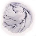 púder-lila selyemsál STÓLA méretben, Ruha, divat, cipő, Női ruha, Selyemfestés, Hűvös pasztellszín - a lilák leghalványabbikából:-)   Az anyag ugyanaz, tisztaselyem,a méret viszon..., Meska
