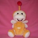 Uki a kis cuki  , Baba-mama-gyerek, Játék, Játékfigura, Plüssállat, rongyjáték, Varrás, Pihe-puha bébisoftból , szilikongolyó töméssel , biztonsági szemmel készítettem 30 cm magas + 12 cm..., Meska