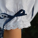 Gyermek kékfestő mintás szoknya + blúz, Ruha, divat, cipő, Női ruha, Szoknya, Gyerekruha, , Meska