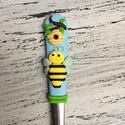 Méhecskés kiskanál, Baba-mama-gyerek, Konyhafelszerelés, Mindenmás, Gyurma,   Nagyszerű ajándék lehet kicsiknek és nagyoknak egyaránt. Ajánlom születésnapra ,névnapra ,de egyé..., Meska