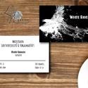 Névjegykártya, Egyedi Tervezés, Ntermék címke, Névjegy, design, szerkesztés, cég, logo, logó, vállalkozás, ajándékkísérő, Naptár, képeslap, album, Képeslap, levélpapír, Jegyzetfüzet, napló, Ajándékkísérő, Névjegykártya pasiknak!  Egyedi tervezésű névjegykártya  * Nyomtatás: Dupla oldalas * Kivitelezés: K..., Meska