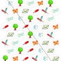 Jelölő matrica nagy A/4 körökre rendezve, dios részére rendelésre, Baba-mama-gyerek, Játék, Festészet, Fotó, grafika, rajz, illusztráció, 1 szett 55különböző ábra - egyenként 30x30mm nagyságú körlapokra rendezve, - A/4-es méretű öntapadós..., Meska