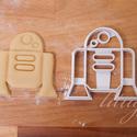 Star Wars - R2D2 alakú sütemény kiszúró forma, Konyhafelszerelés, Férfiaknak, Fotó, grafika, rajz, illusztráció, Mindenmás, Star Wars süti, sütemény / R2D2  R2D2-t is megalkottuk sütemény keksz, linzer kiszúrónak / szaggató..., Meska